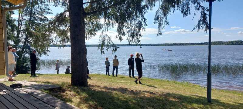 Vetouistelukisa järjestettiin Isolla Vatjusjärvellä lauantaina.
