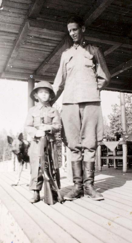 Claes Tigerstedtiä voisi kutsua Suomen nuorimmaksi sotaveteraaniksi.