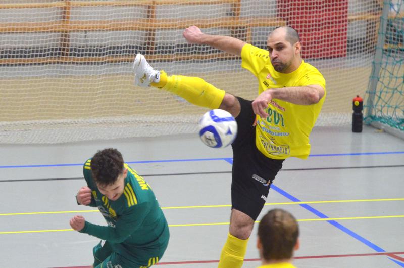 Radik Akhmetkhanovin taituruutta saadaan ihailla jatkossakin Vieska Futsalin peleissä.