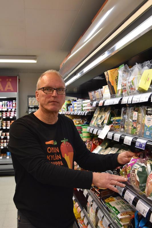 Onnea! Kauppiaan työ on Olli Pollarille elämäntapa.