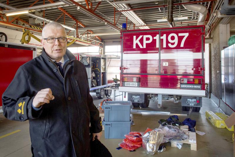 Monitahoinen yhteistyö on pelastuslaitoksilla jokapäiväistä, kertoo Jaakko Pukkinen. Arkistokuva.