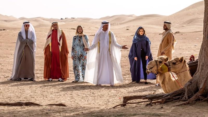Arabiemiirikunnissa tehty filmi suututti Qatarin.