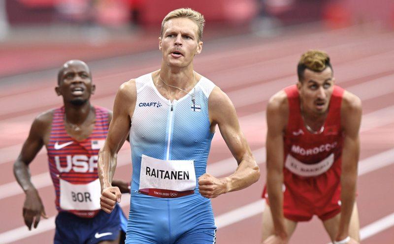 Topi Raitanen sijoitui kahdeksanneksi estefinaalissa.