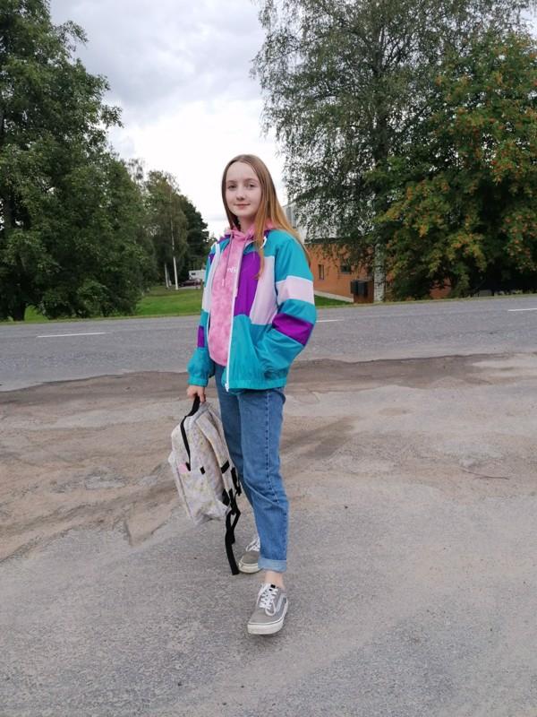 Niina Kokkoniemi aloittaa toisen asteen opintonsa Viitasaaren lukiossa.