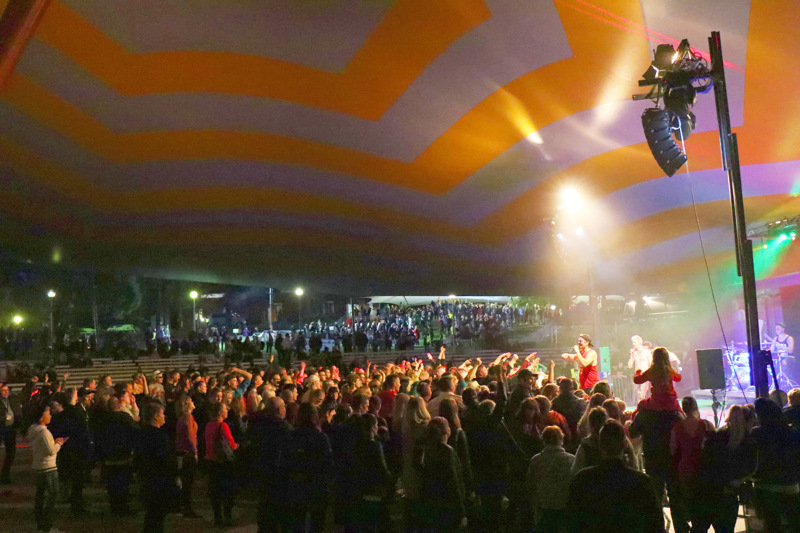 First Run Rock järjestettiin Kaustisella ensimmäisen kerran kaksi vuotta sitten. Myös tuolloin lavalla nähtiin Portion Boys.