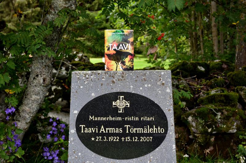 Terhi Törmälehto kirjoitti isoisästään Taavi Törmälehdosta ja tämän sotavuosista kirjan. Taavi on haudattu Haapaveden Kirkkomaan hautausmaalle.