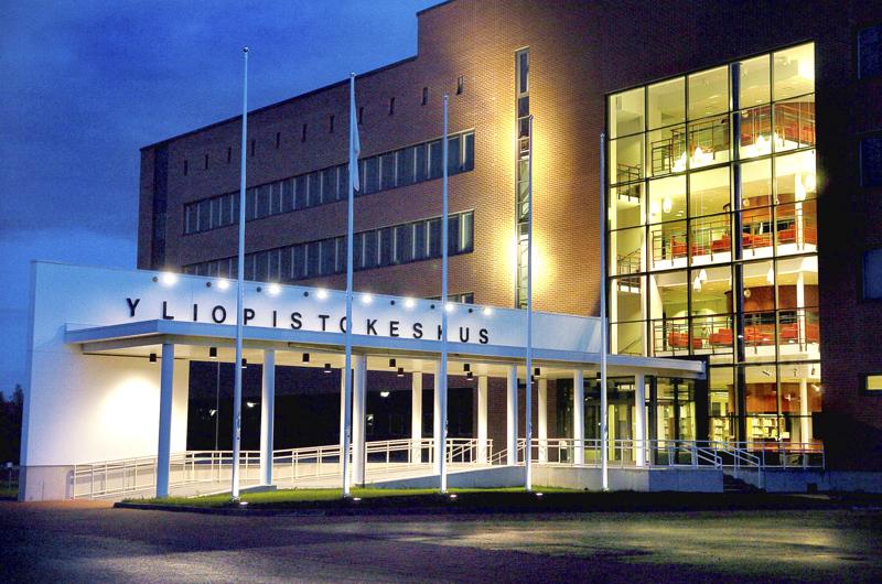 Kokkolan yliopistokeskus Chydenius toimii Jyväskylän, Oulun ja Vaasan yliopistojen yhteisenä yksikkönä.