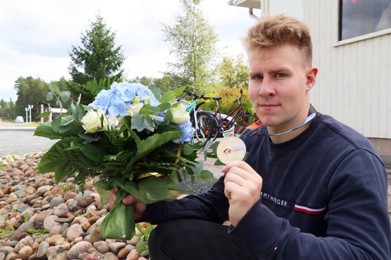 Onneksi kovaan paikkaan tuli hyvä suoritus, Janne Läspä summaa MM-menestystään.