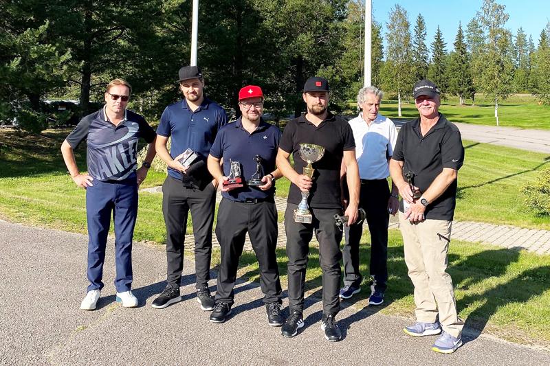 Haapaveden golfmestaruudesta kilpaili kuusi pelaajaa.