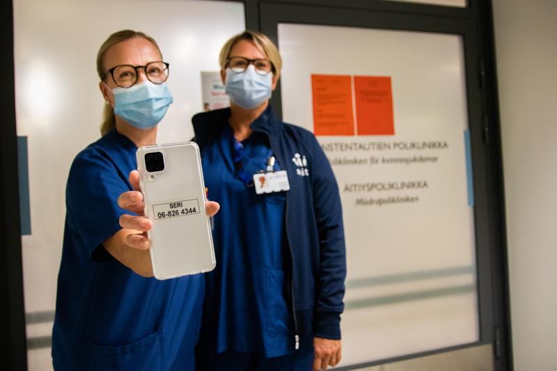 Seri-tukikeskuksen vastaava hoitaja Jaana Sammallahti ja Soiten naistenklinikan ylilääkäri Charlotta Frostdahl kertovat, että seksuaalirikosten uhrit voivat hakeutua Seri-tukikeskukseen matalalla kynnyksellä.