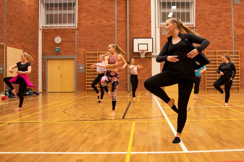 Kokkolan Jymy on harjoitellut muun muassa Koivuhaan koulun salissa aktiivisesti vuosien ajan.
