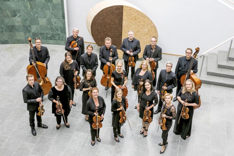 Kamariorkesteri soittaa perjantai-illan matineassa Niittykoskea.