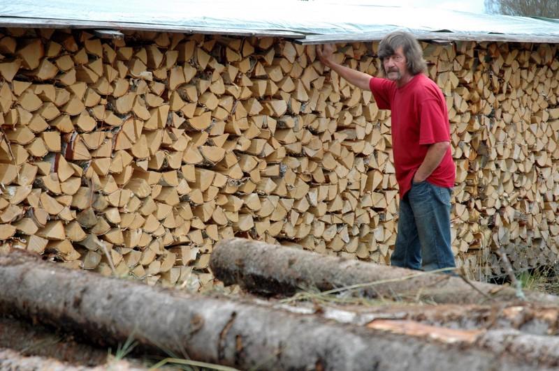 Haapaveden kylien välisen ympäristökilpailun voittaneella Karsikkaalla harjoitettiin monenlaista yrittäjyyttä. Sakari Salmela oli tehnyt polttopuukauppaa 15 vuotta. Viime talvet olivat olleet niin kylmiä, että polttopuuta olisi mennyt kaupaksi enemmänkin kuin Sakari omasta metsästään pystyi toimittamaan.