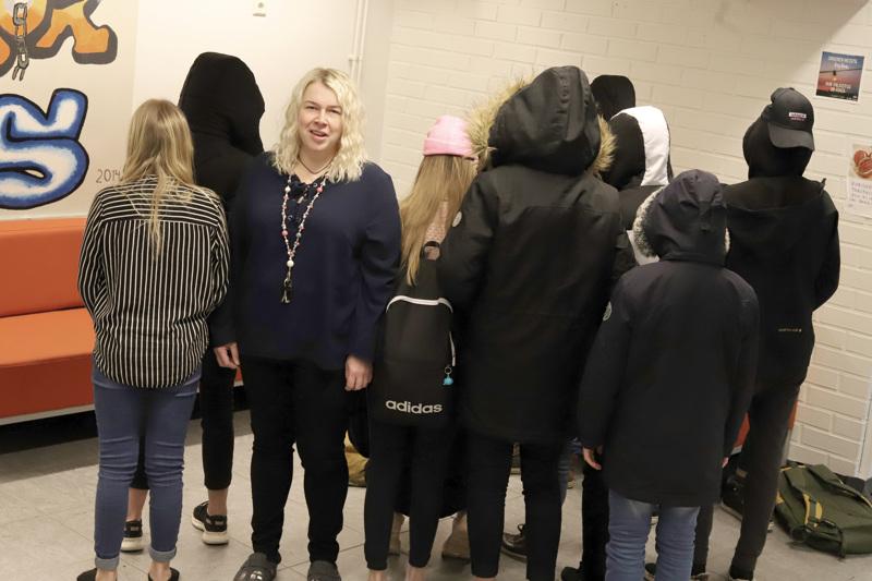 Kasvatusohjaaja Piia-Liisa Soini on toiminut ko. tehtävässä jo kolme vuotta. Hän tekee yhteistyötä ensisijaisesti nuorten, mutta myös muiden tahojen kanssa.