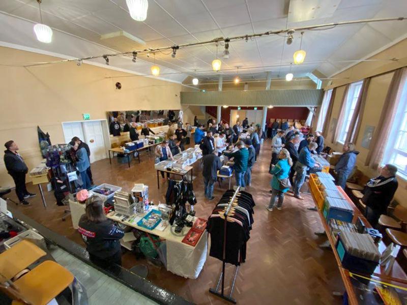 Levymessut järjestettiin viime syksynä ensimmäistä kertaa Työväentalolla.