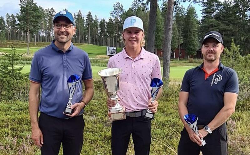 Kalajoki Golfin mestariksi pelasi Tuomas Törnvall. Toiseksi tuli Antti Jutila ja kolmanneksi Janne Joki-Erkkilä.