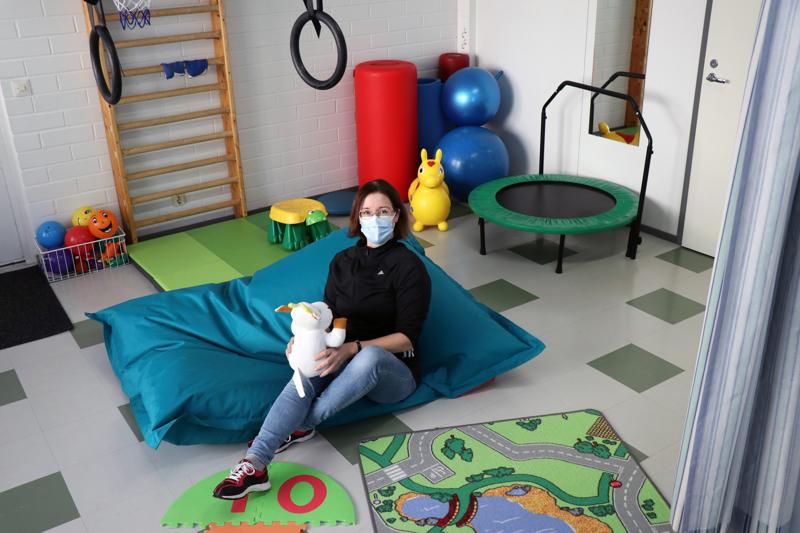 Fysioterapeutti Mari Hietala on toiminut 10 vuotta yrittäjänä.