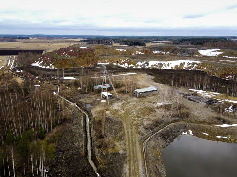 Hituran kaivosalueella on tehty sulkemistöitä viiden vuoden ajan.