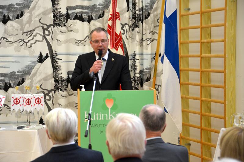 Jussi Niinistö on huomannut maanpuolustustahdon olevan korkealla tasolla Keski-Pohjanmaalla.
