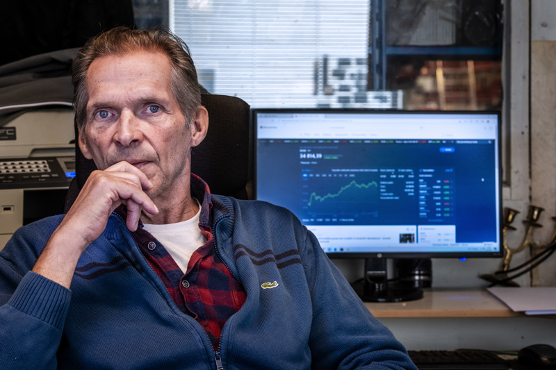 Mauri Koski on seurannut pörssikursseja 1980-luvun puolesta välistä saakka.