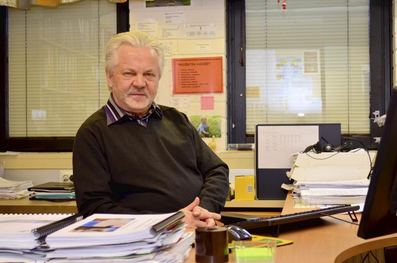 Jorma Turunen työskenteli Peruspalvelukuntayhtymä Selänteen ympäristöjohtajana ennen eläkkeelle jäämistään.