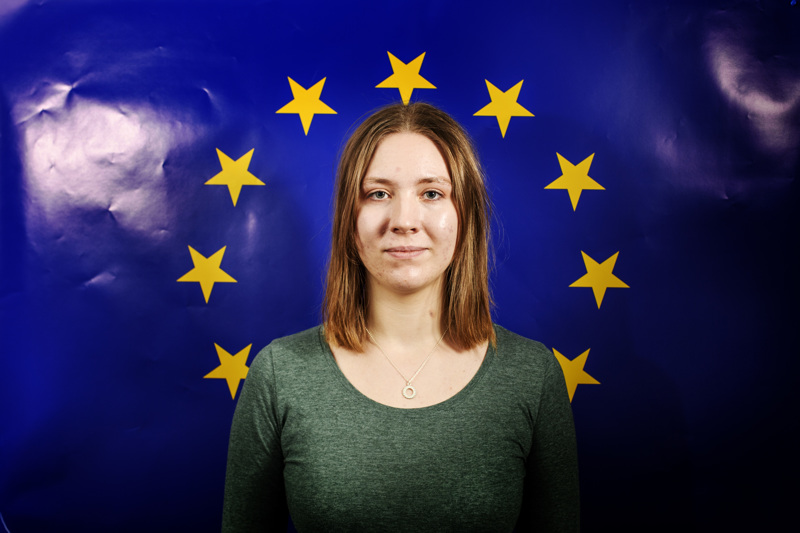 Kokkolalainen Neea Kurri, 21, vietti mielenkiintoisen viikonlopun Strasbourgissa pohtimassa Euroopan unionin tulevaisuutta tavallisten kansalaisten näkökulmasta.
