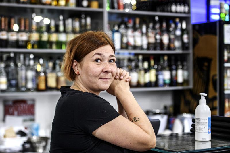 Liisa Kangasvieren omistamassa ravintolassa Alavieskassa oli hyvä kesä. Syksykin on alkanut positiivisissa merkeissä.