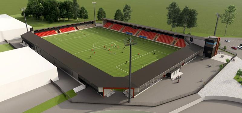 Tunnelma tiivistyy Pietarsaaren jalkapallostadionin eli Project Liv Arenan ympärillä. Stadionille haetaan samaan aikaan kaupungin takausta ja rakennuslupaa.
