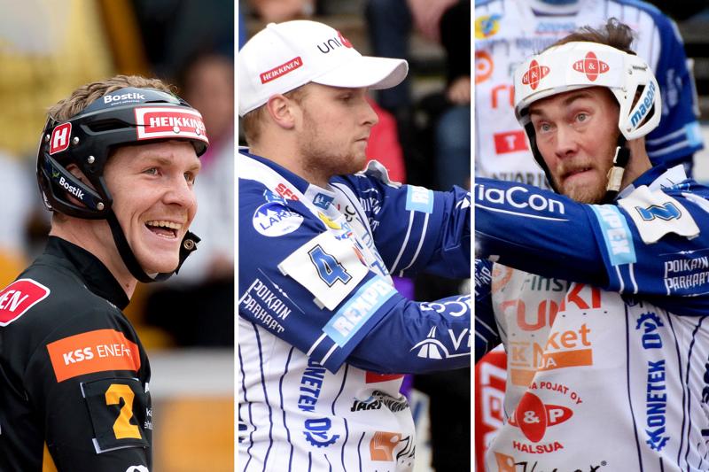 Arttu Ruuska, Perttu Ruuska ja Mikko Kanala tuovat taitoa superpesiksen huipulta Toivon All Starsiin.