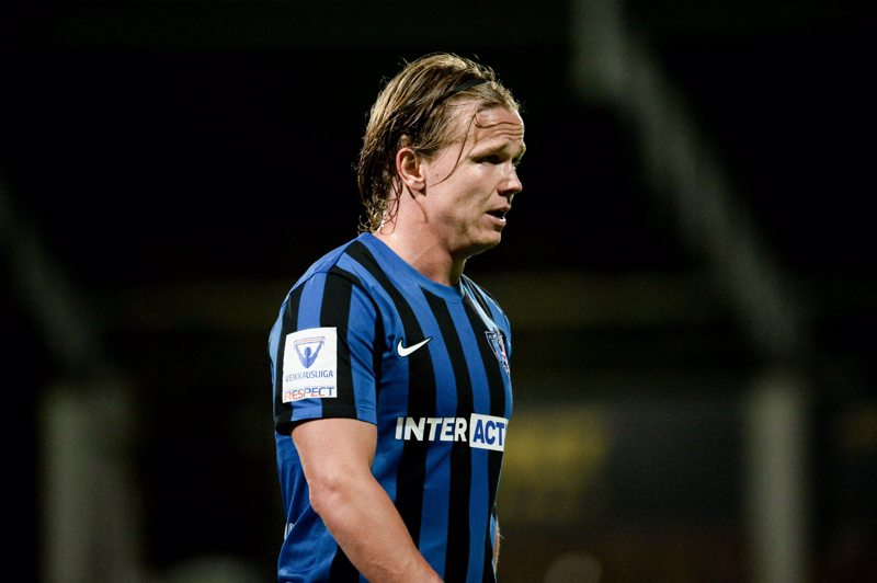 Petteri Forsell valittiin syyskuun pelaajaksi jalkapalloliigassa.
