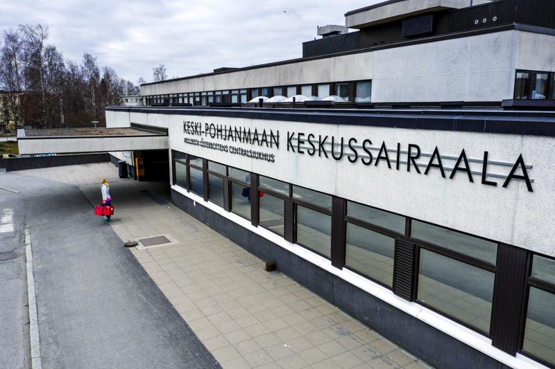 Keski-Pohjanmaan keskussairaalassa on hoidossa kuusi koronaviruspotilasta.