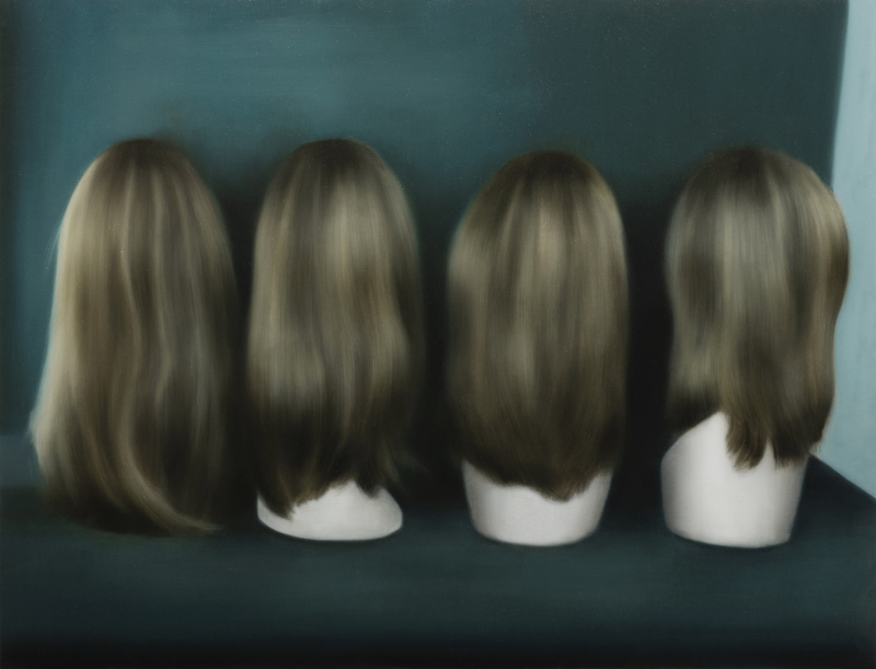 Ipseity, Oil on linen, 72 x 94 cm , 2021, Wihuri Art Collectio.