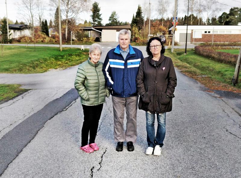 Gun-Britt ja Heino Olli  sekä Margita Dahlqvist  toivovat kotirauhaa Oinaansaareen. Asukkaita piinaavat asukkaiden itsensä tekemien havaintojen mukaan noin 12–14 vuotiaiden lasten joukko, joka koostuu noin 15 pojasta.