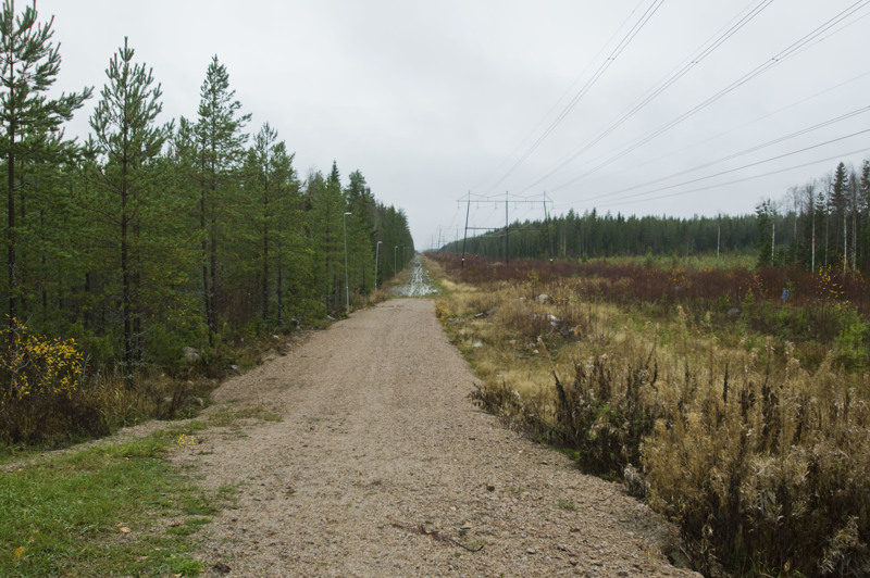 Hiitolan latu on hiihtokunnossa jopa toukokuulle asti, kun metsä antaa suojaa auringolta.