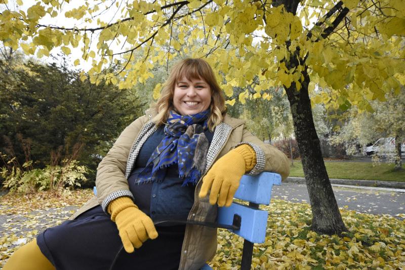 Kokkolalainen Sarah Tiainen on Ekumeenisen vastuuviikon koordinaattori. Tämän vuoden teemana on kohtuullisuus.