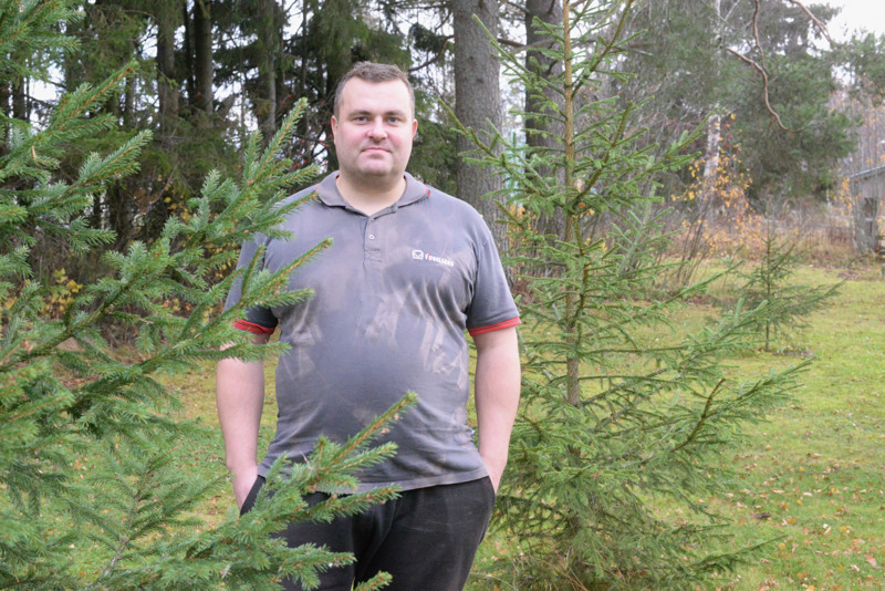 -Wood Forest Finland kasvattaa puita sinne, missä niitä ei muuten kasvaisi, Heikki Kiljala kertoo.