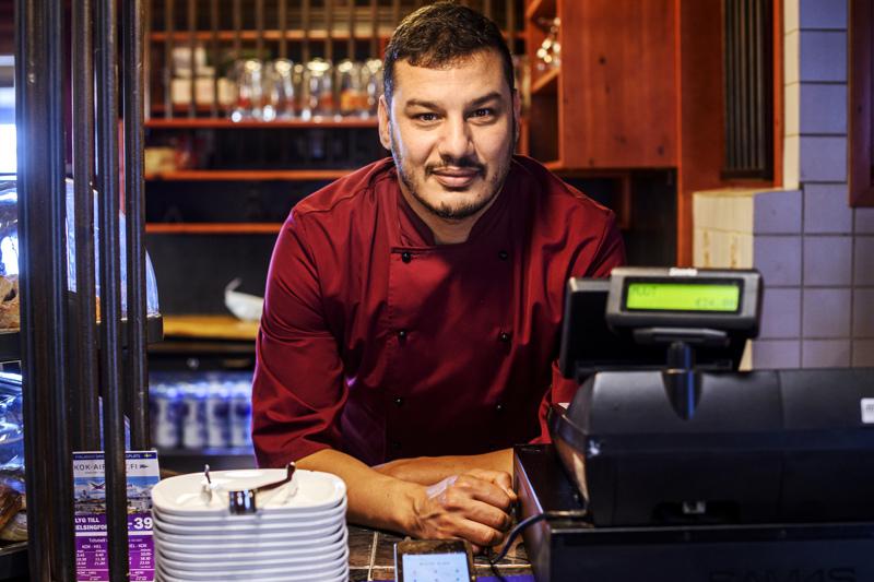 Maggie's Café -ravintola sai kesällä uuden yrittäjän, kun Tunisiasta kotoisin oleva Bessem Othman otti ravintolan hoitoonsa.