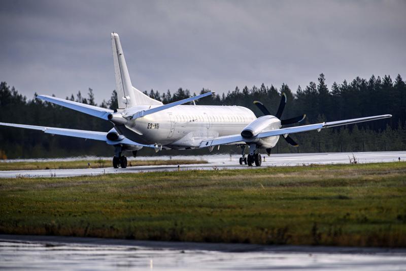 Virolainen NyxAir aloitti reittilennot Kokkola-Pietarsaaren lentokentältä viime toukokuun 10. päivänä. Valtio tukee maakuntalenttien liikennettä ensi elokuun 14. päivään saakka yhteensä 13,8 miljardilla eurolla.