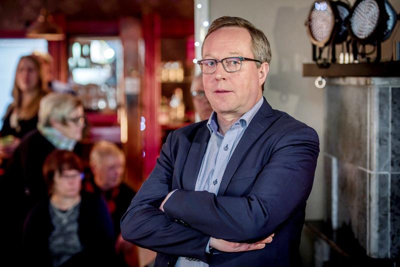 Elinkeinoministeri Mika Lintilä osallistuu keskustan Pohjois-Pohjanmaan piirikokoukseen.