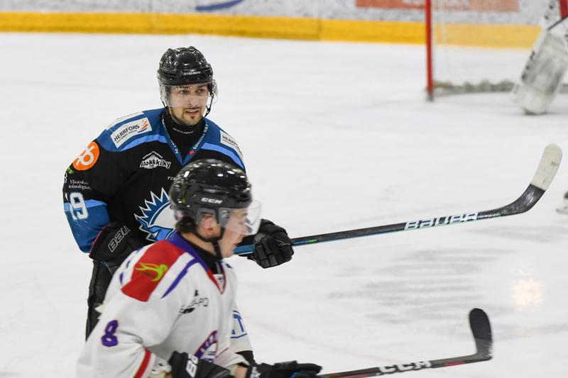 Lauri Laakko kirjautti KUKI-ottelussa tehot 1+1.