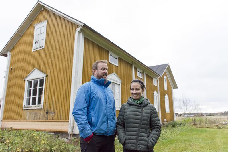 Heidi ja William O`Gorman suunnittelevat, että heidän Plassilla olevien talojen pihapiirissä voisi järjestää esimerkiksi erilaisia työpajoja, valmennuksia ja koulutusta.