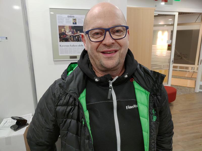 Matti Laitinen oli mukana KPV:n toiminnassa yhdentoista vuoden ajan.