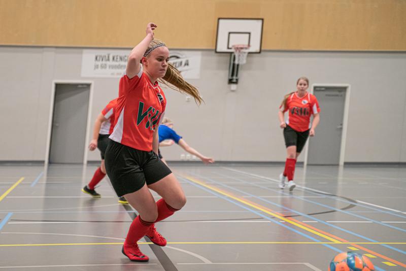 Toholammin Urheilijoiden Anette Huhtala teki maalin ja antoi syötön Ykkösen pelissä FC Seinäjokea vastaan sunnuntaina.
