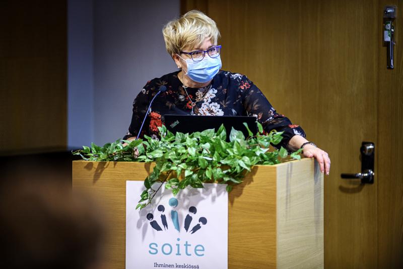 Soiten toimitusjohtajalla Minna Korkiakoski-Västillä oli maanantai-iltapäivänä iloisia uutisia.
