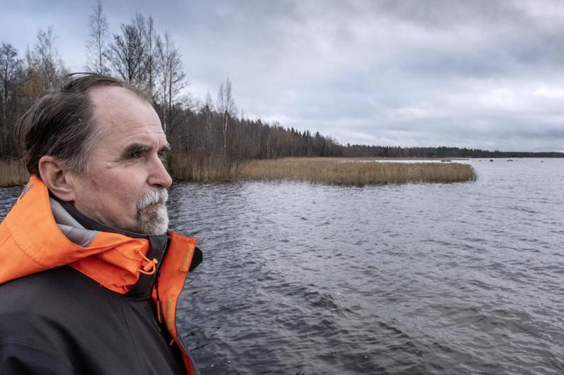 Merenlahdista vuosikymmeniä sitten padottu Luodon-Öjanjärvi Kokkolassa ei ole priimakunnossa, tietää Kokkolan kaupungin johtava ympäristötarkastaja Juhani Hannila.