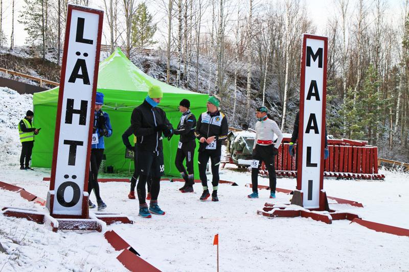 Yhteensä 15 osallistujaa lähti taittamaan matkaa Pyssymäki Päkjaart Ultra 2021 -tapahtumassa.