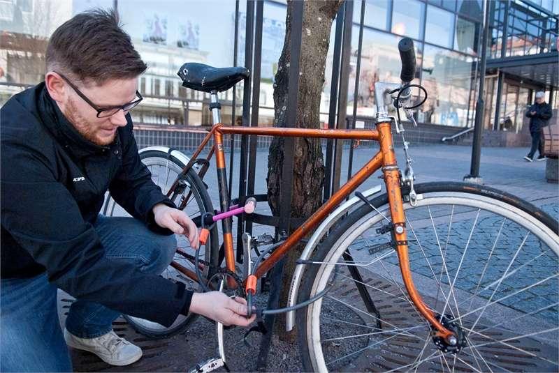 U-lukko antaa pyörälle parhaan suojan