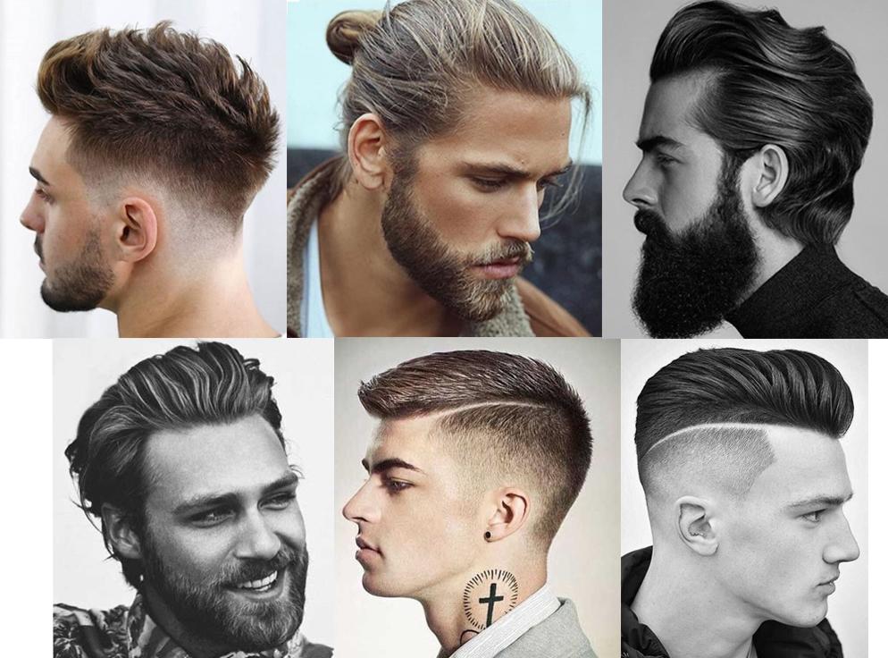 Miesten trendejä esitellään verkossa valitettavan vähän verrattuna naisten hiusmuotiin. Mutta tässä joitakin otoksia Instagramista miehiä unohtamatta. Kuvat: @menshairs (ensimmäinen ja viimeinen kuva), muut kuvat @menshairstyles
