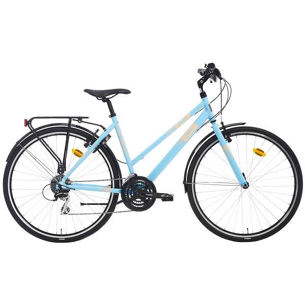 Tunturi Juliana Lady City, hyvin varustettu naisten hybridipyörä hintaan 299€