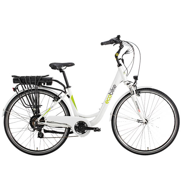 Sähköavusteinen Ecobike 7 vaihteisena hintaan 995 €, klikkaa kuvaa lisätietoihin